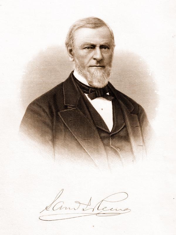 Image of Samuel J. Reeves, head and shoulders.
