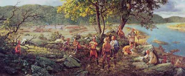 In June of 1763, as Pontiac's War swept across the area, a British garrison of 150 men and 600 settlers were under siege at Fort Pitt.