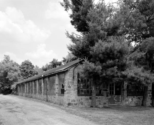 Exterior image of the Knitting Mill