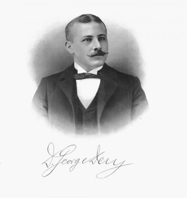 Portrait of Desiderius George Dery, 1904.