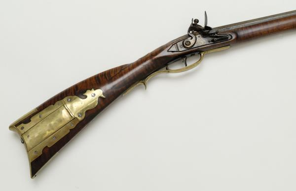 Color image of a Pennsylvania rifle detail