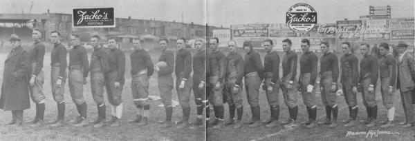 Pottsville Maroons team photo