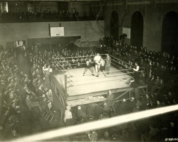 Boxing Inside Irene Kaufman Settlement House, Pittsburgh Pa., February 1928.