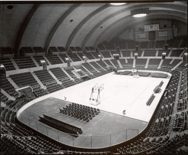 Interior of the Hershey Sports Arena