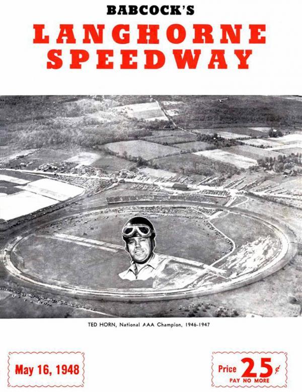 Langhorne Speedway flyer