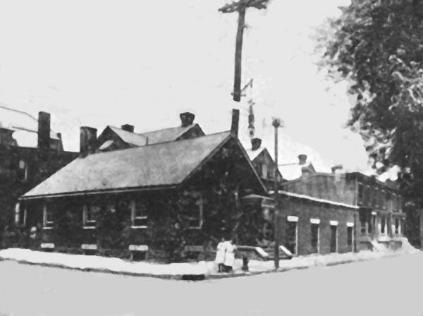 Wissahickon School Club building, corner of Pulaski Avenue and Coulter Street, Philadelphia, PA, circa 1913.