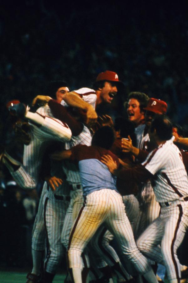 Phillies Rejoicing, 1980