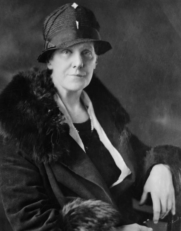 Portrait of Anna M. Jarvis.