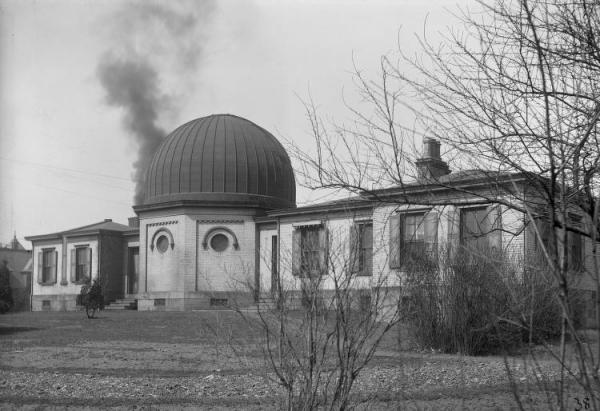 Exterior of the Original Allegheny Observatory, 1900.