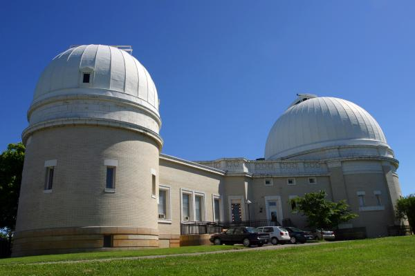 Exterior of the Allegheny Observatory in 2007.