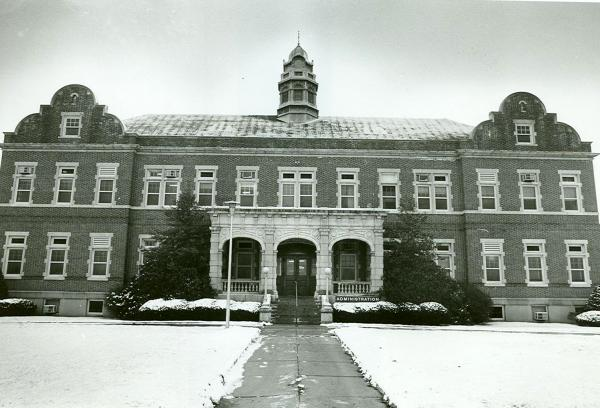 Exterior, front facade, and grounds