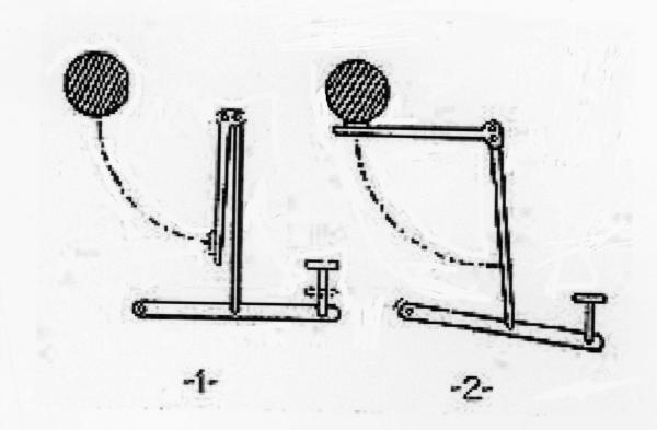 "Sholes"" ""up-strike"" design diagram"