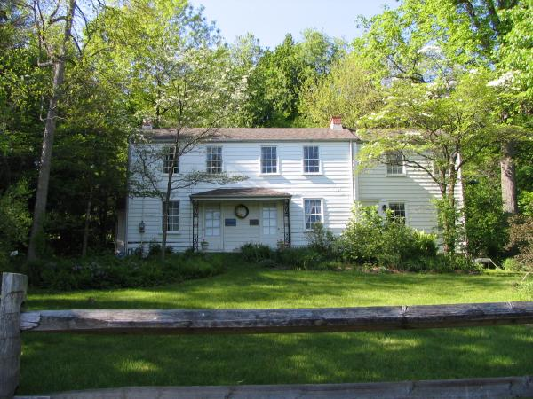 Rachel Carson Homestead, exterior, house, front facade and grounds.