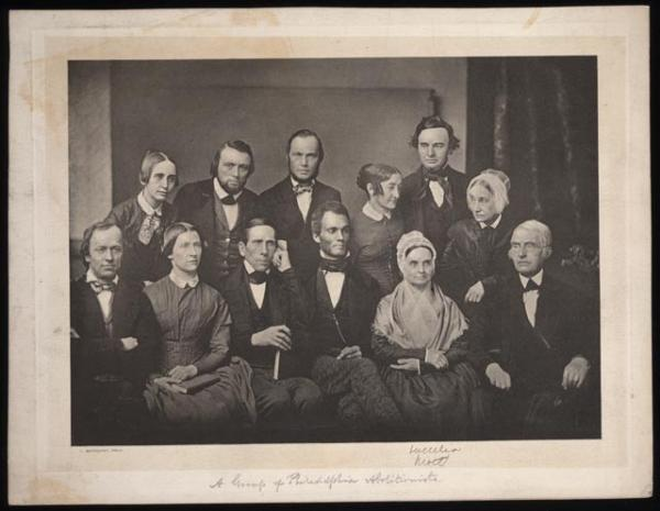A Group of Philadelphia Abolitionists