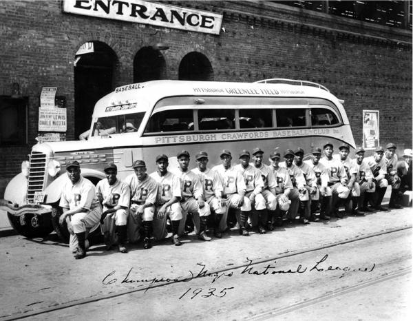 Pittsburgh Crawford's Team Photo, 1935.