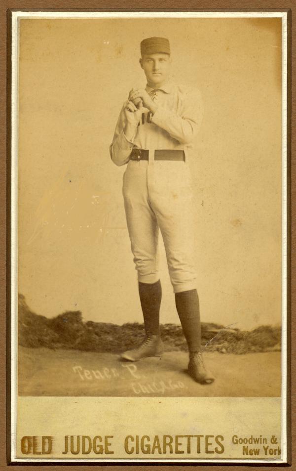 ohn Tener in his Chicago White Sox uniform