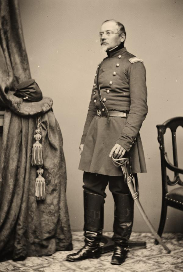Full length portrait in uniform