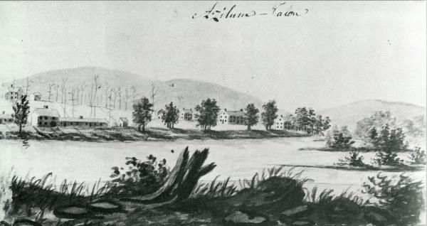 Sketch of French Colony Azilum.