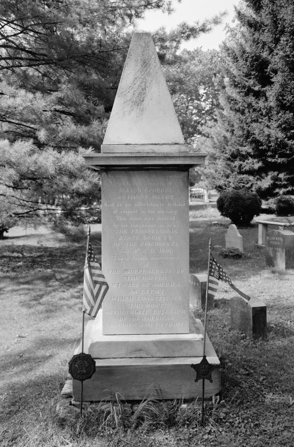 general view of marker