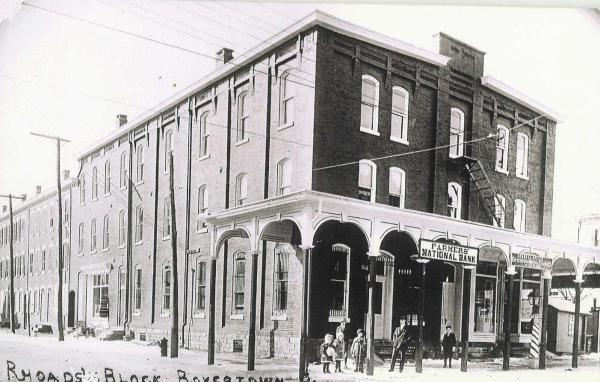 Boyertown Opera House exterior before the fire exterior