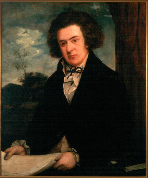 Portrait of Barton by Samuel Jennings
