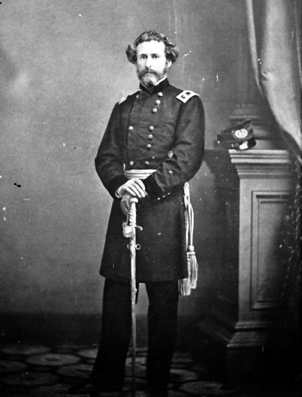 Photograph of General John C. Fremont, ca. 1860 - ca. 1865