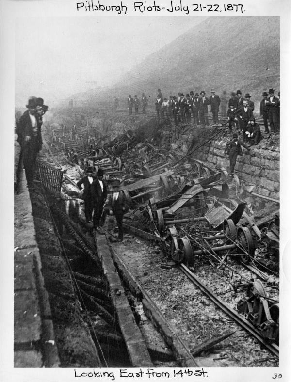 The great railroad strike essay