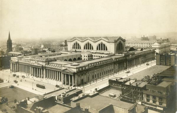 New York's Penn Station exterior