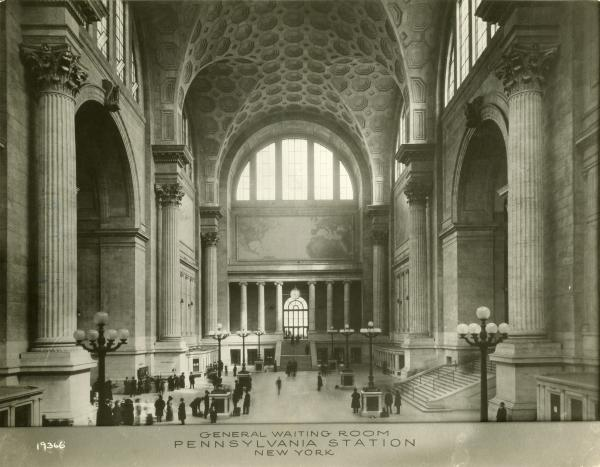 New York's Penn Station interior