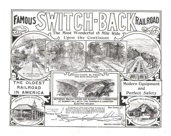 Scenic Switchback Railroad flyer