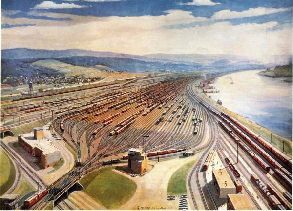 Conway Yard, Electronics in Railroading, 