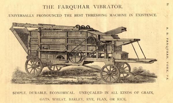 Etching of Farquahar Vibrator