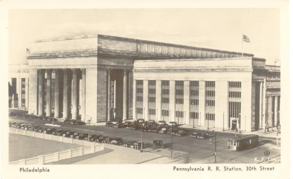 Pennsylvania Station 1936 postcard.