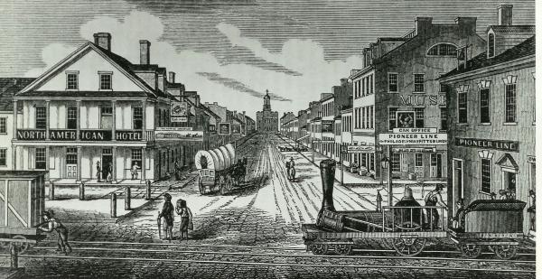 Lancaster N Queen Street