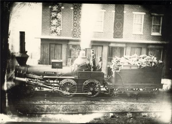 Early photograph of the Tioga