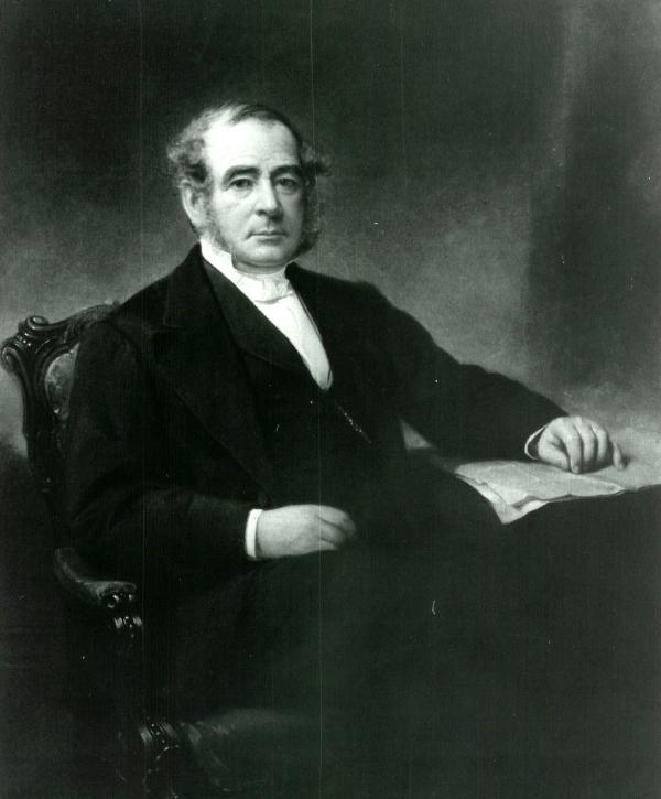 Portrait of J. Edgar Thomson.