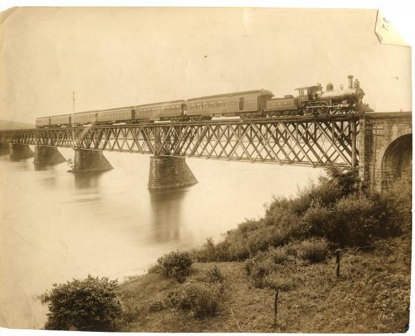 Old Rockville Bridge, 1892.