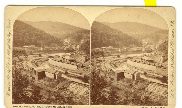Mauch Chunk Circa 1880
