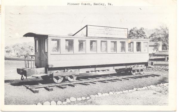 Postcard of the Pioneer