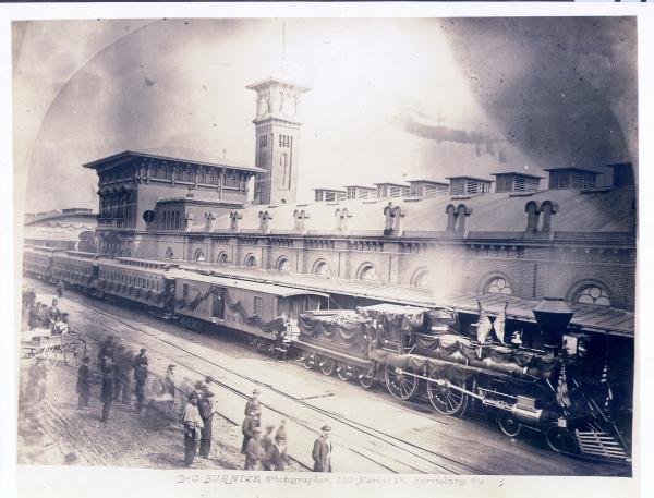Lincoln funeral Train.