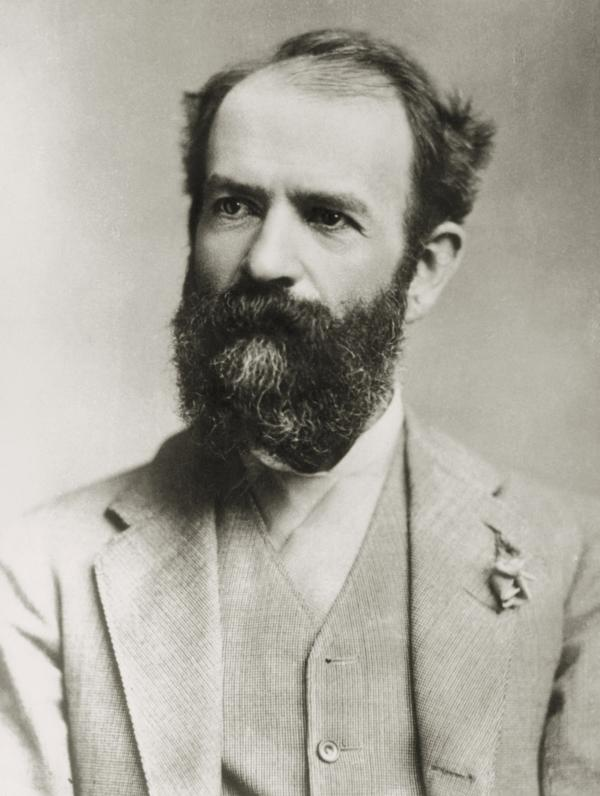 Black and White Photograph of Jay Gould.