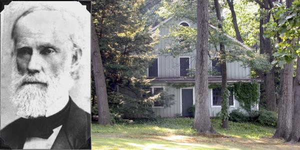 George Bliss hid fugitive slaves in this carriage house on his property.