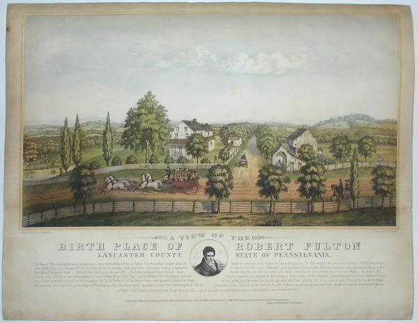 Hand-colored Lithograph