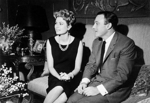 Princess Grace and Gene Kelly, 1961.
