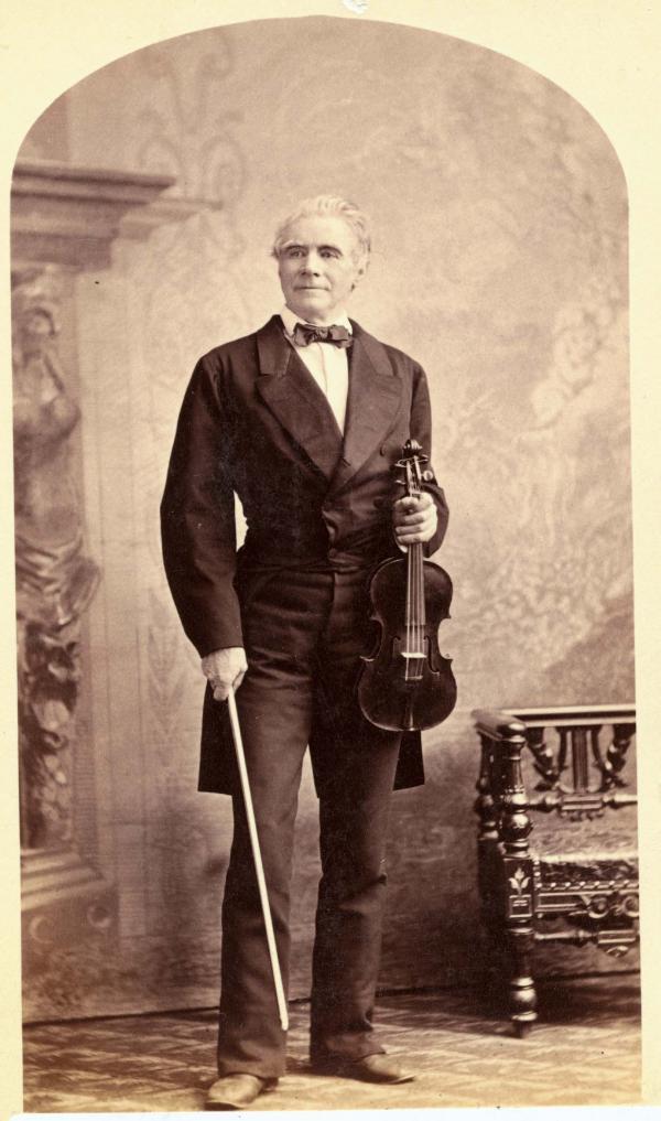 Portrait of Ole Bull.