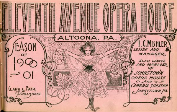 Eleventh Ave Opera House Program cover