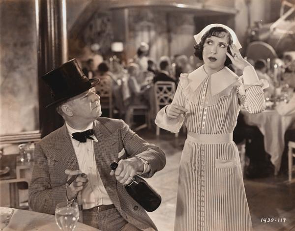 Gracie Allen and W. C. Fields Performing