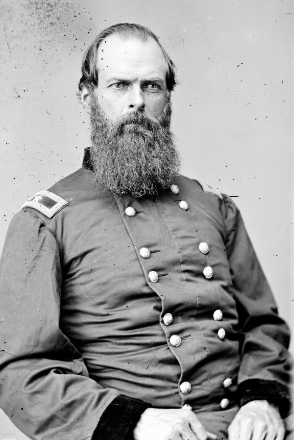 John W. Geary in uniform.