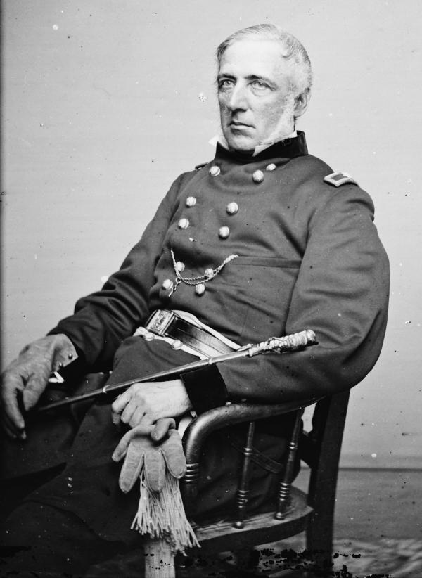Photograph of James Wadsworth.