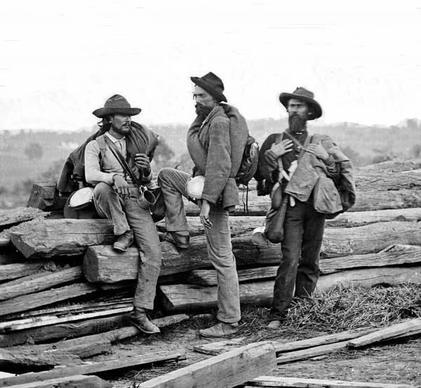 Photograph from the main eastern theater of the war, Gettysburg, June-July, 1863.